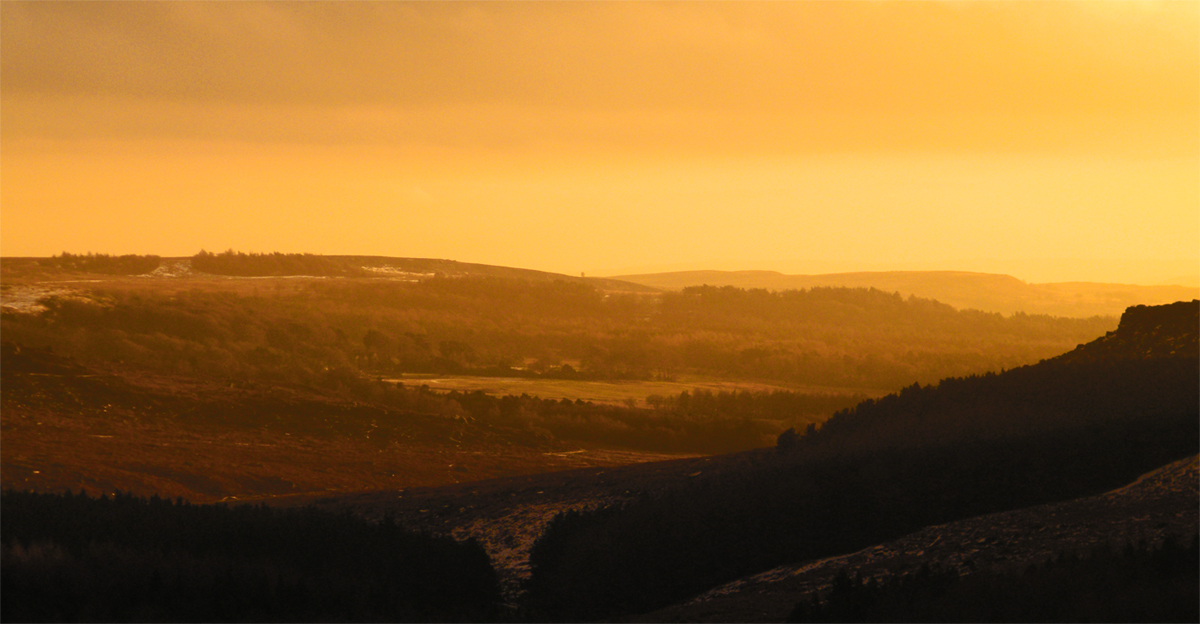 Orange Burbage Valley © Oli Grounsell
