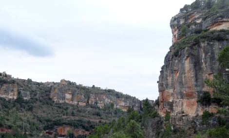 The mighty face of Ramadan, Anna can just about be seen on L'escamarlà to the right. © Nathan Lee