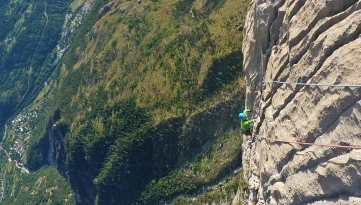 The amazing top pitches of Ranxerox, 7a, Tete d'Aval© Liam Postlethwaite