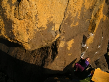 Jemma on The Incredible Shaking Man SDS © Oli Grounsell