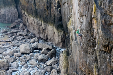 Point Blank (E8 6c), Stennis Ford, Pembroke © Ed Booth