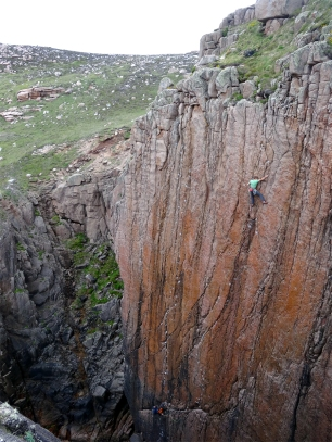 The Three Wise Men, E6 6b, Holy Jaysus Wall © Nathan Lee