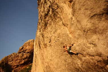 The Brute (8b, The Diamond) © Glyn Hudson