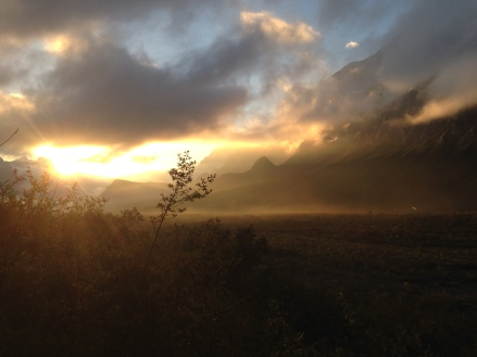 Sunrise across La Huasteca