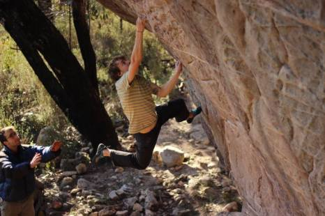 Puzzle about Belief (V11) - a stunning slightly highball line © Jason