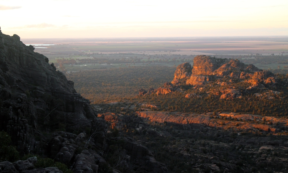 Sunset in the Grampians