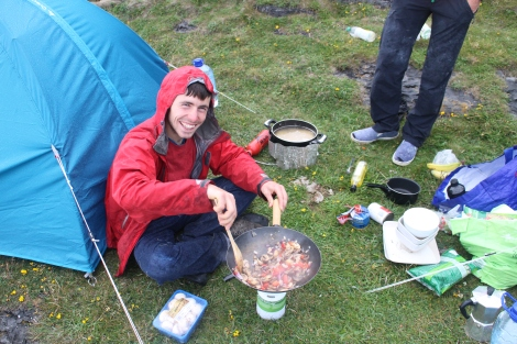 Happy Camper, The Burren, Ireland