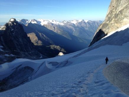 The Upper Vowel Glacier