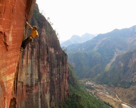 Iron Tusk (12d), Liming, China © Michele Pratt